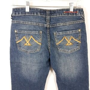 Vigoss Bottoms - Vigoss Denim Blue Jean Bermuda Shorts 12